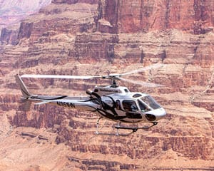 Grand Canyon Helicopter Tour, Eagle Point Rim Landing
