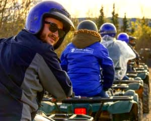 ATV Guided Tour Denali, Trailblazer Adventure - 3 Hours 30 Mins (Denali Shuttle Available!)