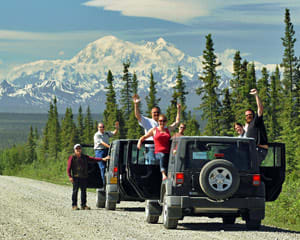 Jeep Tour Denali - 4 Hours (You Get the Chance to Drive!)