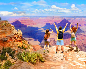 Grand Canyon National Park Luxury Bus Tour with Walking Tour Guide, South Rim - Full Day