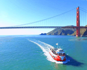 San Francisco Luxury Coach Tour and Bay Cruise, Grand City Tour - 5 Hours