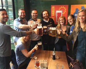 Chicago Walking Tour, Comedy and Craft Beer - 2.5 Hours