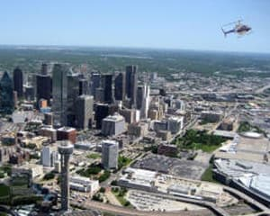 Helicopter Tour Dallas - 12 to 15 Minutes