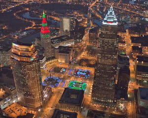 Helicopter Ride Cleveland, Christmas Lights Tour - 10 Minutes