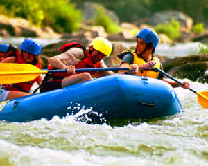 2 Person Deal: Whitewater Rafting Harpers Ferry, Class I-III - 3 Hours (Potomac Pass or Adventure Park Add on for Free!)