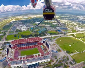 Private Helicopter Tour St. Petersburg , Downtown and Skyway - 30 Minutes