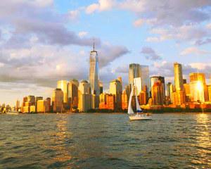 New York City Saturday Sunset Statue & Skyline Sail - 2 Hours