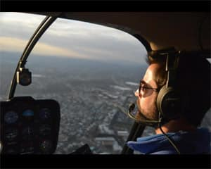 Helicopter Flight Lesson Philadelphia, R44 Flight - 30 Minutes