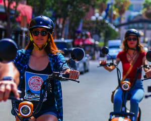Guided Electric Scooter Tour San Diego, Downtown and Oldtown Tour - 2 Hours