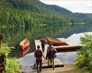 Ketchikan Rainforest Canoe & Nature Trail Adventure - 3.5 hours