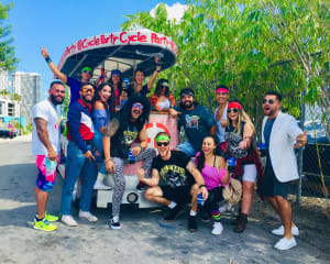 Private Cycle Party Wynwood, Happy Hour Pub Crawl - 2 Hours