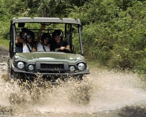 UTV Guided Tour Oahu, Kualoa Ranch - 2 Hours (Book Up to 5 People Per Vehicle!)