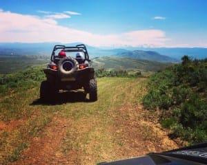 UTV Off Road Rental, Colorado - Half Day