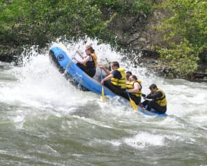 Whitewater Rafting, Beer & Camping, Wenatchee River - Overnight