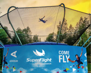 Wind Tunnel Super Flight Miami, Jungle Adventure – 4 Flights