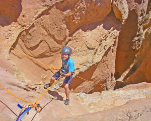 Canyoneering Robbers Roost and Dirty Devil, Utah - Full Day