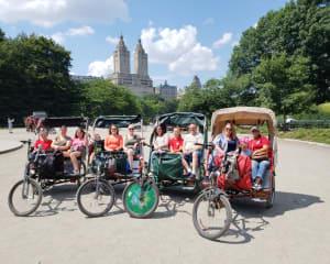 Pedicab Guided Tour, Central Park - 1 Hour