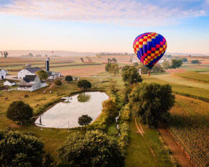 Hot Air Balloon Ride Lancaster, Pennsylvania - 1 Hour Flight