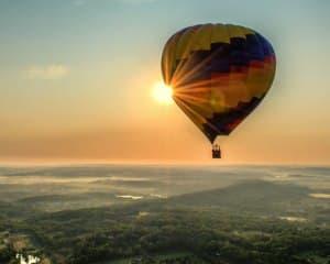 Hot Air Balloon Ride Gettysburg, Pennsylvania - 1 Hour Flight