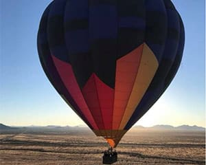 Hot Air Balloon Ride North Phoenix - 1 Hour SUNSET Flight