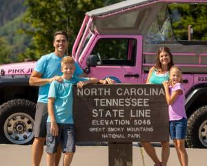 Jeep Tour Smoky Mountains, Newfound Gap Tour - 3 Hours