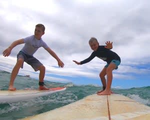 Small Group Surf Lesson, Oahu - 1 Hour