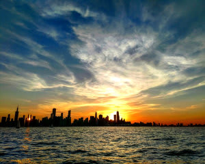 Chicago Sailing Private Charter Sunset - 2 Hours (WEEKDAY)