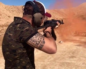 Outdoor Shooting Experience- Las Vegas