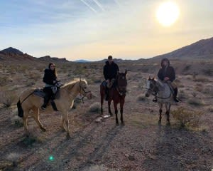 Horseback Riding Las Vegas Sunset Tour - 1 Hour