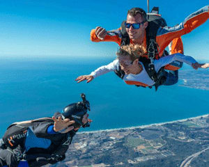 Weekday Skydive San Francisco, Santa Cruz - 13,000ft Jump with Video (Ocean View Jumps Closest to San Francisco!)