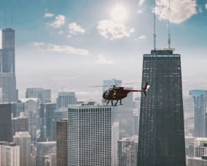Private Helicopter Tour Chicago - 45 Minutes (3rd Passenger Flies Free!)