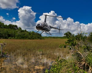 Private Helicopter Tour Miami, Everglades Flight - 20 Minutes