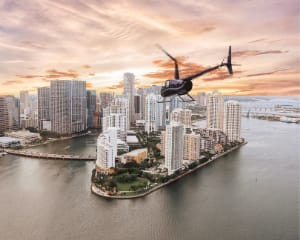 Private Helicopter Tour Miami, South Florida Spectacular Flight - 1 Hour