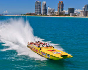 Thriller Miami, 45 Minute Speed Boat Ride