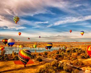 Hot Air Balloon Ride Nashville - 1 Hour Sunset Flight