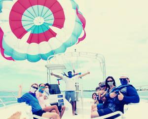 Parasail, Historic Seaport, Key West
