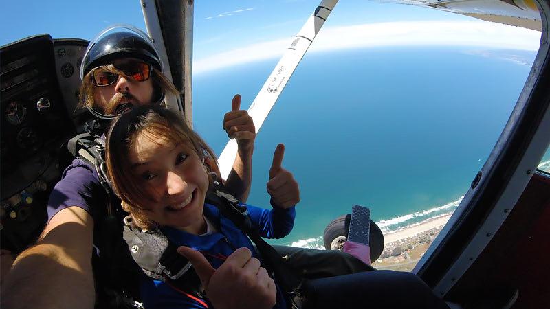 Skydive San Francisco, Santa Cruz - 13,000ft Jump (Ocean View Jumps Closest to San Francisco!)