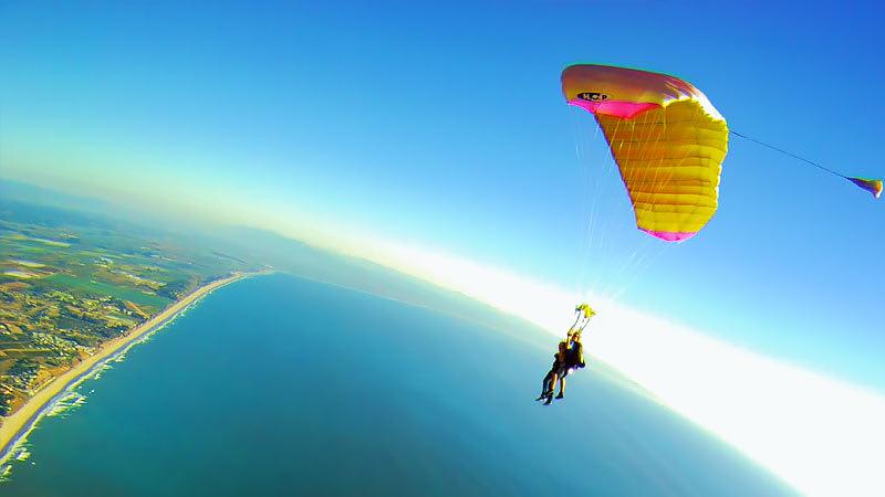 Skydive San Francisco, Santa Cruz Parachute