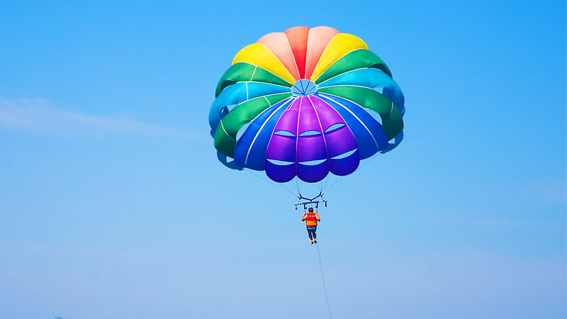 Key West Watersports Do-It-All Package Parasail
