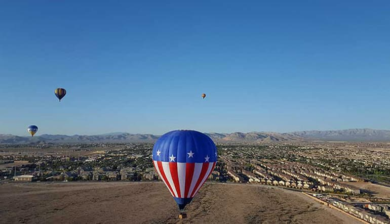 Hot Air Balloon Las Vegas Best Price