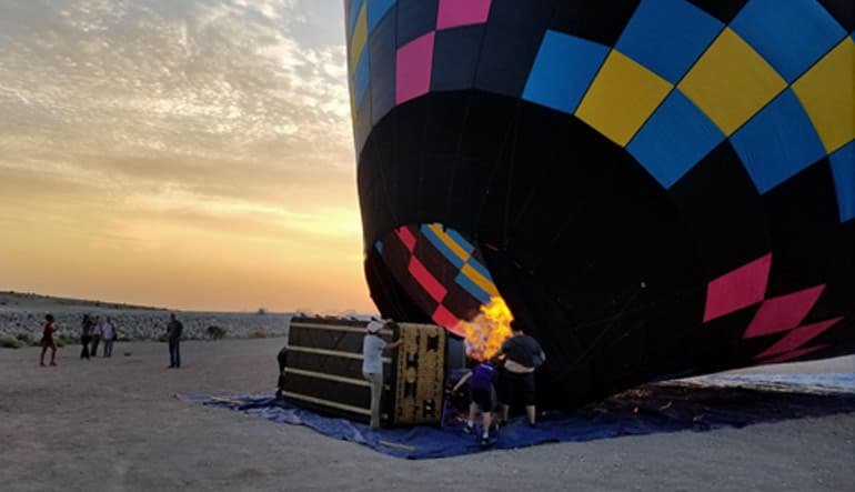 Hot Air Balloon Ride Las Vegas Prep