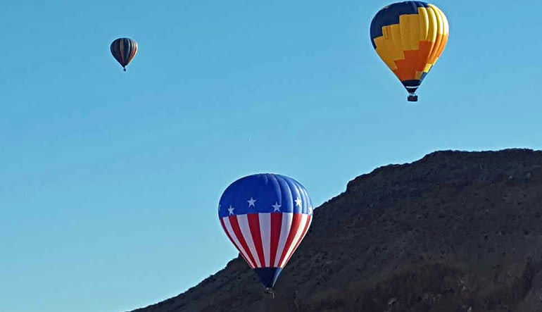 Hot Air Balloon Ride Las Vegas Fleet