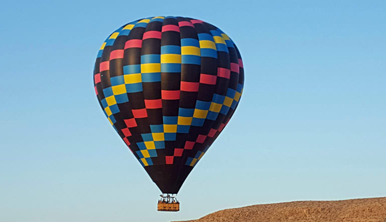Hot Air Balloon Ride Las Vegas Flying High