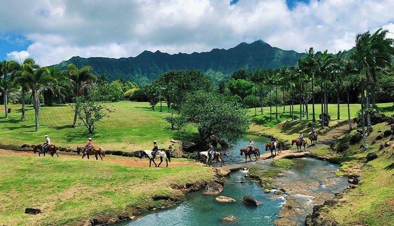 Horseback Ride Kauai with Mountain Pool Adventure and Picnic - 3 Hours