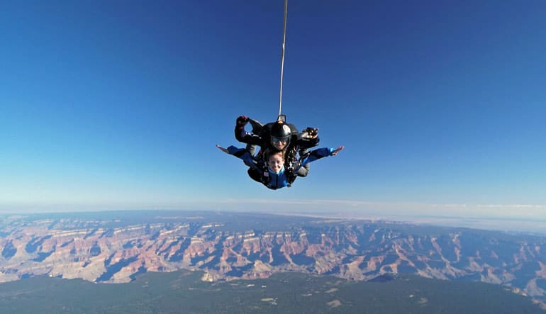 Skydive the Grand Canyon - 15,000ft Jump Tandem