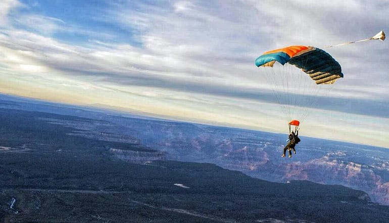 Skydive the Grand Canyon - 15,000ft Jump Parachute