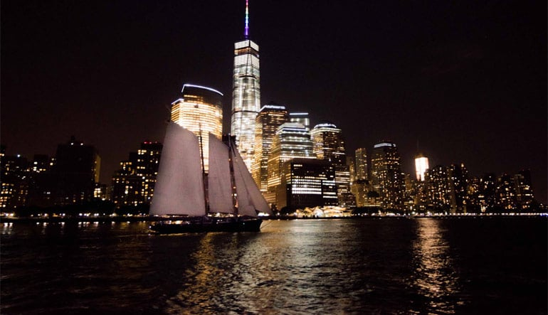 New York Night Sail