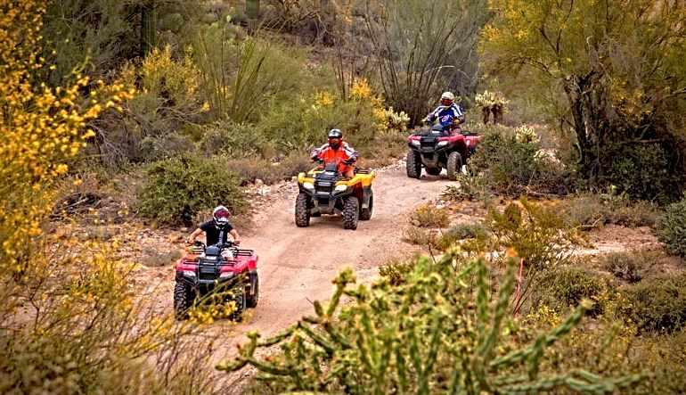 ATV Guided Tour Phoenix, Black Canyon - 2 Hours