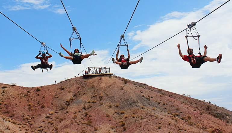 Grand Canyon Helicopter Tour & Zipline Adventure Group