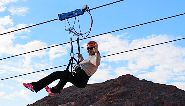 Grand Canyon Helicopter Tour & Zipline Adventure Lady